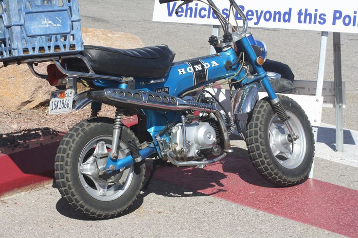 Trail 70, my 2nd bike as a kid.   Mine was red.
