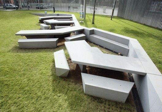 mobiliario division geometrico