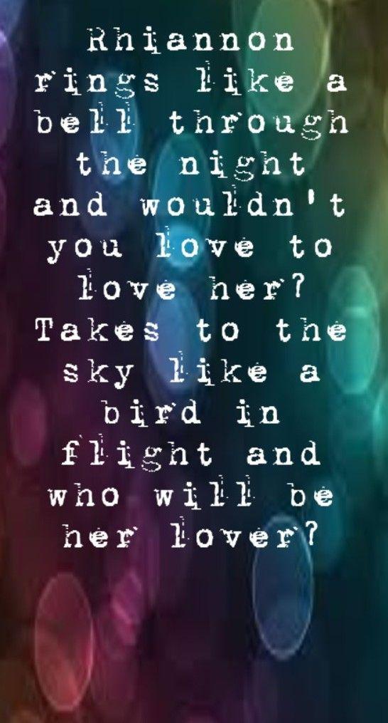 Fleetwood Mac Lyric Quotes. QuotesGram