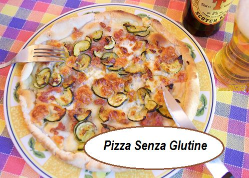 Pizza NoGlutin con zucchine, stracchino e salsiccia. Ottima e facile  QUI>>>http://tormenti.altervista.org/pizza-noglutin/