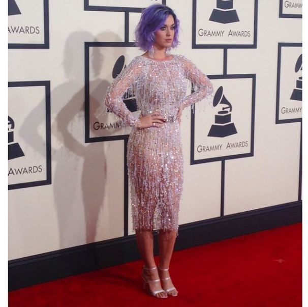 { 2015 Grammy Fashion Hits and Misses } Love this look on Katy Perry!!