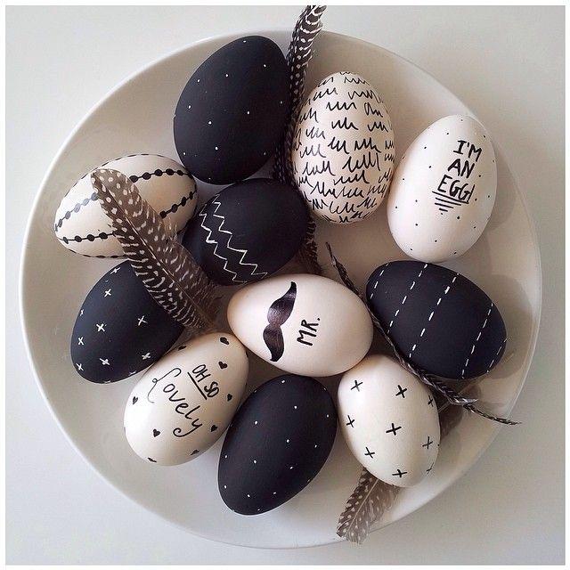 easter eggs, pic by lovelyhomemade