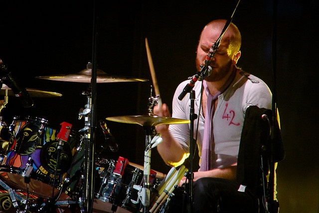 Will Champion, Coldplay drummer - Camilogr