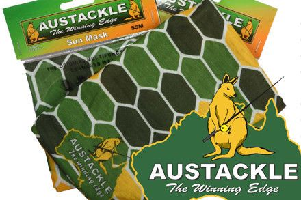 Austackle Sun Mask | Apparel by Austackle | Import Tackle - Import Tackle | Online Fishing Tackle Store