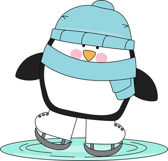 Winter Ice Skating Clip Art - Whimsy Clips