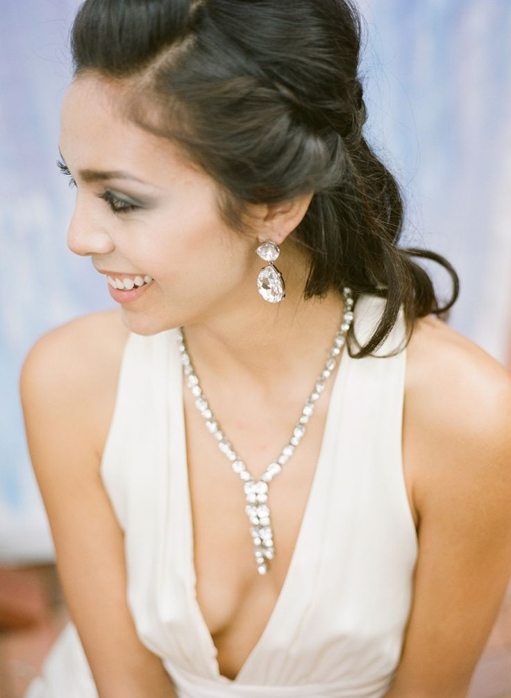 Top 10 ideas about Statement Wedding Necklaces on ...
