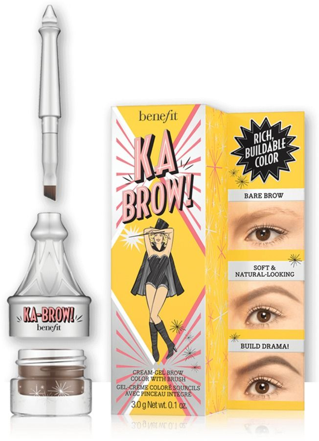 Benefit ka-BROW! Cream-Gel Eyebrow Color With, new in 6 shades for summer 2016