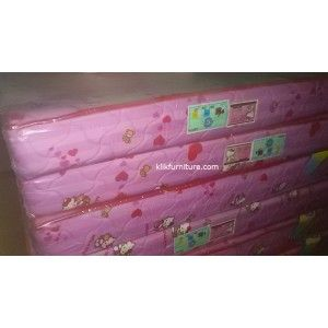 Kasur Busa Hello Kitty GOLD Big Foam kualitas busa GOLD garansi 5 tahun tebal 18 cm tersedia pilihan ukuran http://klikfurniture.com/busa-bigfoam/2881-kasur-busa-hello-kitty-gold-big-foam.html