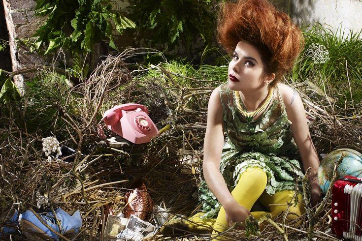 "PALOMA FAITH, ""DO YOU WANT THE TRUTH OR SOMETHING BEAUTIFUL?"" ALBUM ARTWORK SET DESIGN: PETRA STORRS, PHOTOGRAPHER: FINLEY MCKAY"