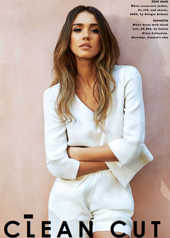 Jessica Alba for The Sunday Times