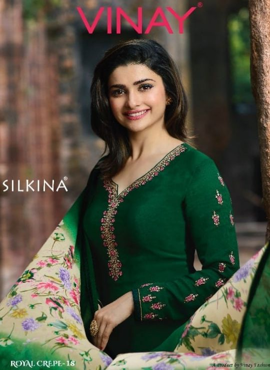 9882938e66 Vinay-Fashion-Silkina-Royal-Crepe-18-8341-8350-Series-Wholesale-Salwar- Kameez-Supplier-1-1