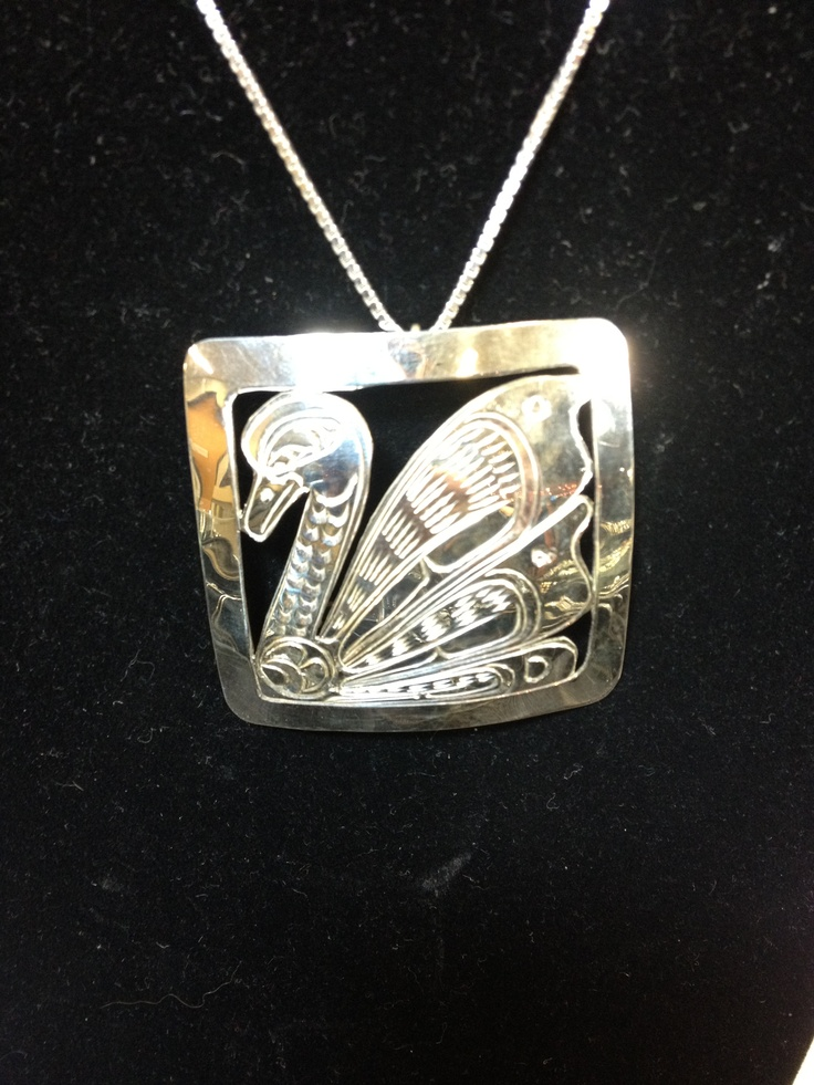 Native sterling silver jewelry at www.silverfx.ca