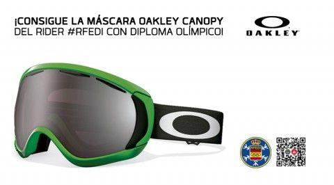 Consigue la máscara Oakley Canopy