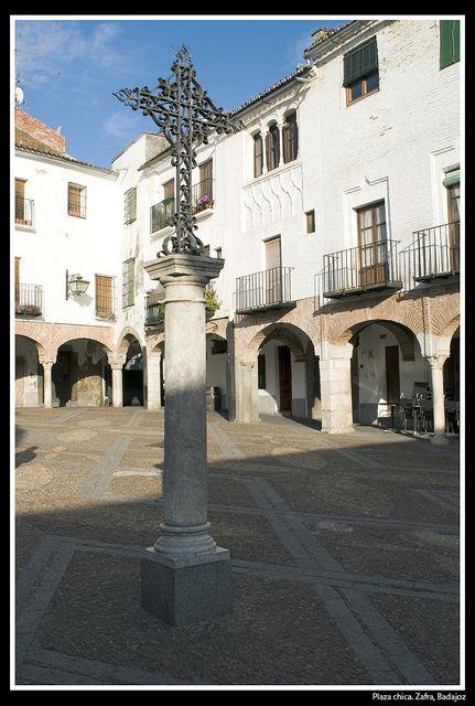 Plaza chica. Zafra   Badajoz