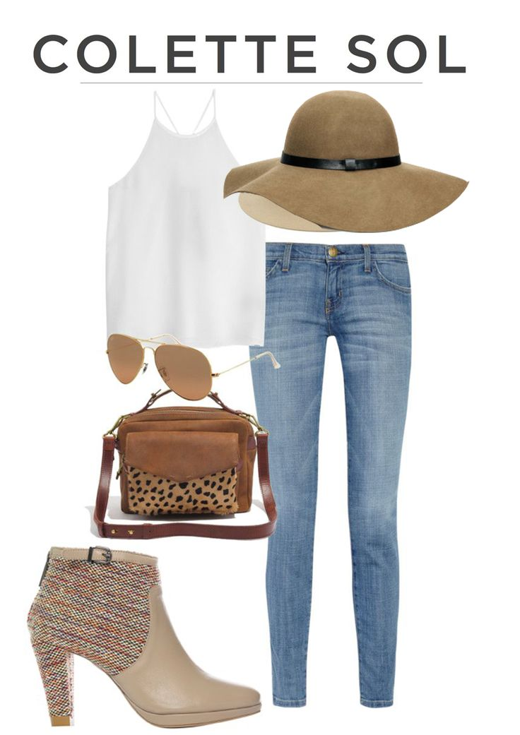 Less is more! Get a great tan in this outfit, colette sol how to wear