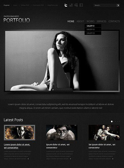 30 best images about Model Portfolio Moto CMS HTML on Pinterest