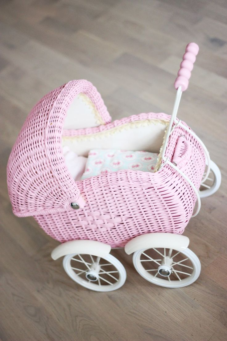 pink doll buggy