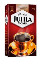 Paulig - Juhla Mokka. Tämä tätä merkkiä, kiitos. :)
