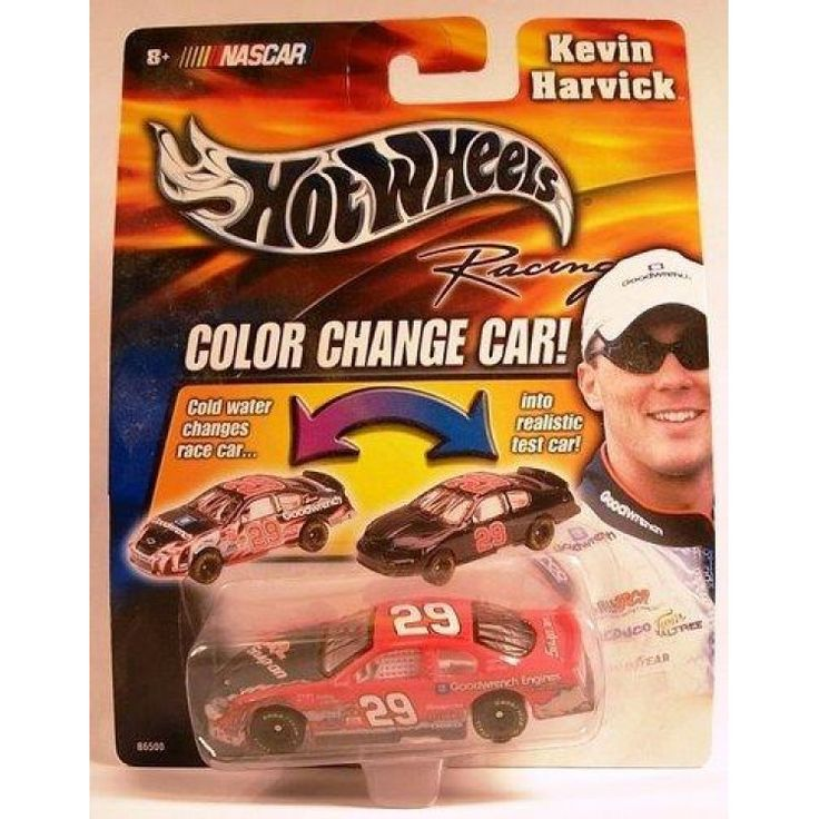 2003 Kevin Harvick #29 Snap On Color Changer Car Hotwheels 1/64 Scale Diecast Cold Temperature To Warm Temperature Changes Color  Features : 2003 Kevin Harvick #29 Snap On Color Changer Car Hotwheels 1/64 Scale Diecast Cold Temperature To Warm Temperature Changes Color *Hood and Trunk DO NOT Open