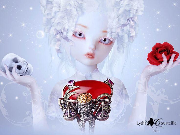LYDIA COURTEILLE: HAUTE COUTURE JEWELS, ART & HISTORY | Jetsetfashionmagazine.com - Haute Couture, Fashion Videos, Make-up, Beauty, Lingerie, Swimwear