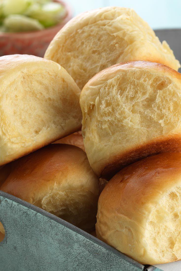 Hawaiian Buns Recipe - I love Hawaiian rolls.  Recipe comes from King Arthur Flour, so it must be good!  :)