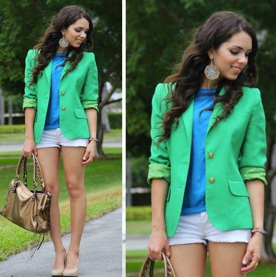 """Sea green... see blue"" by Daniela Ramirez on LOOKBOOK.nu"