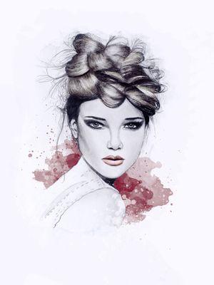 #illustration #fashionillustration #fashionportrait #portraitdrawing #illustrator #fashionillustrator #art #fashionart #fashionblogger #braids