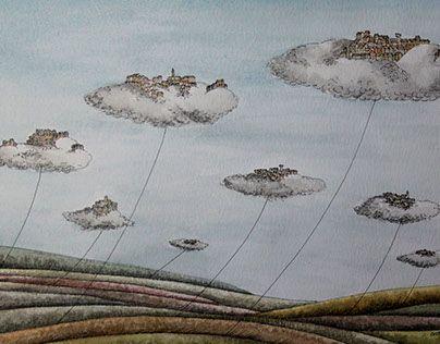 "Check out new work on my @Behance portfolio: ""CITTÀ SOSPESE"" http://be.net/gallery/48157629/CITTA-SOSPESE"