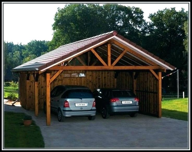 wood carports for sale wooden carport kits near me w | Diy ...
