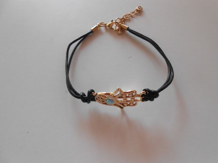Black Envy Hand Bracelet. www.higmoda.eu