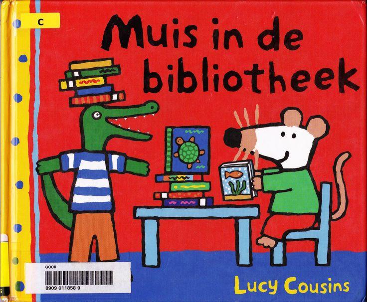 Muis in de bibliotheek