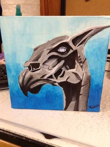 Thestral Painting by Margaron