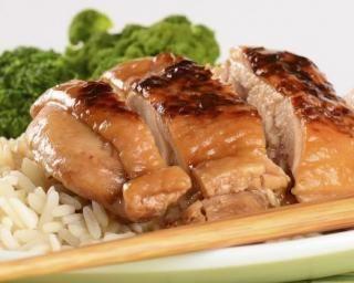 Poulet teriyaki : http://www.fourchette-et-bikini.fr/recettes/recettes-minceur/poulet-teriyaki.html