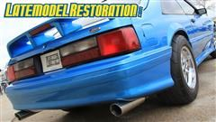 Project Blue Color was rough when we first got it, but now its a gem!   (http://www.latemodelrestoration.com/products/Project-Blue-Collar-Fox-Body-Mustang-Restoration)