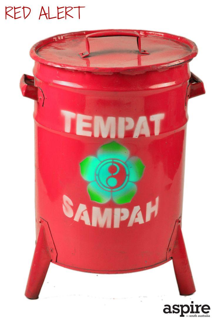 Really cool bin $49.95 from Mewali https://mewali.com.au  #Red #Bin #Shopping #Adelaide