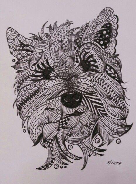 Resultado de imagen de perro mandala