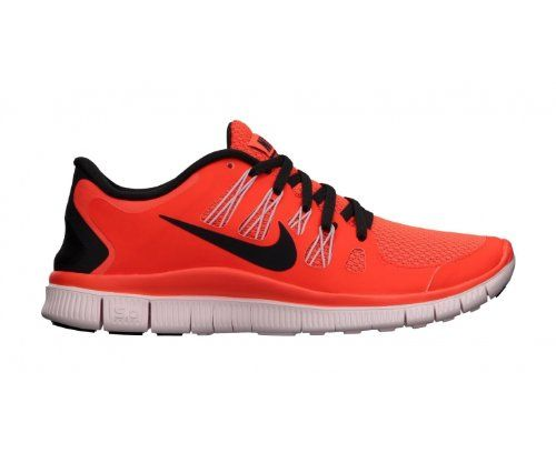 nike free 5.0 mens running shoe navy \/ orange \/ white bat