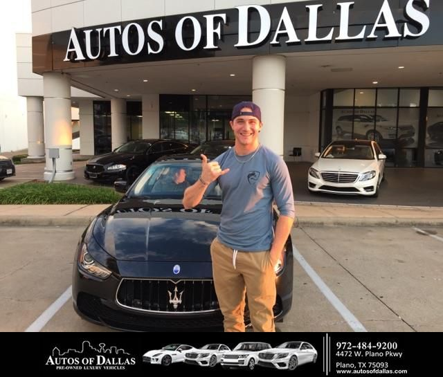 Autos of Dallas Customer Review  Absolutely great experience. Came in, told Bob what car I wanted, he grabbed the keys, we test drove, he didn't bull**** me about the price. Fast an easy process. When you go to Autos of Dallas ... see Bob Tauber. Thanks, Bob. Enjoyed it! Love my new Maserati.  Kevin, https://deliverymaxx.com/DealerReviews.aspx?DealerCode=L575&ReviewId=64191  #Review #DeliveryMAXX #AutosofDallas