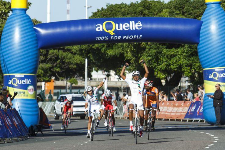 Winner of the 2014 Aquelle Tour Durban, Reynard Butler.   Photo Cred: Kevin Sawyer