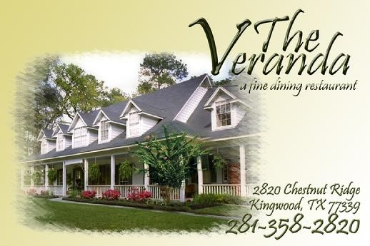 Veranda Restaurant Kingwood Texas