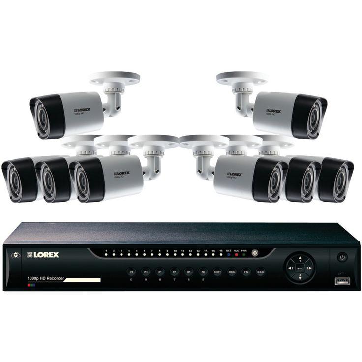 LOREX LHV22161TC8 16Channel MPX 1080p HD 1TB DVR with 8