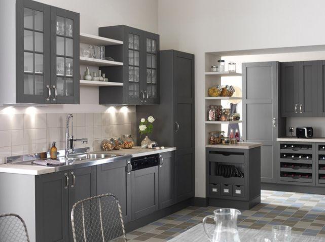 les 25 meilleures idées de la catégorie cuisines grises sur