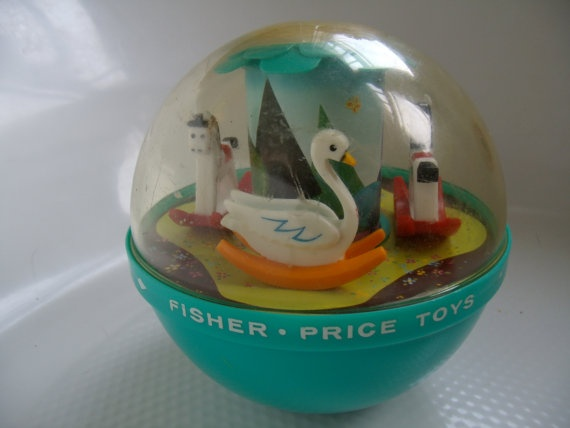 Vintage Fisher Price Roly Poly Chime Ball by AllThatsLeftYou, $14.00: 70 S, Blast, 70S, 80S Kid, Vintage Fisher Price, Vintage Kids, 10 Kids, 1966 Vintage, 80 S