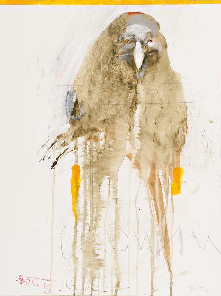 Crow Talk by Rick Bartow