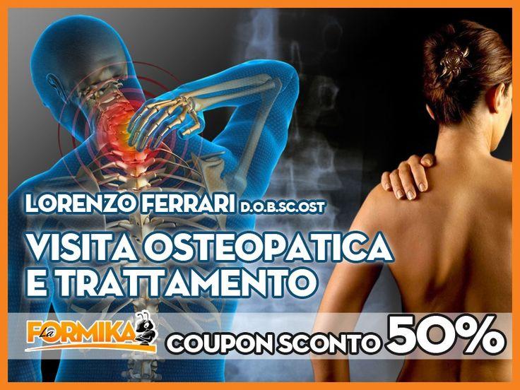 La Formika: VISITA OSTEOPATICA E TRATTAMENTO presso L'Equilibrio a Lodi - Dr. Lorenzo Ferrari - Osteopata