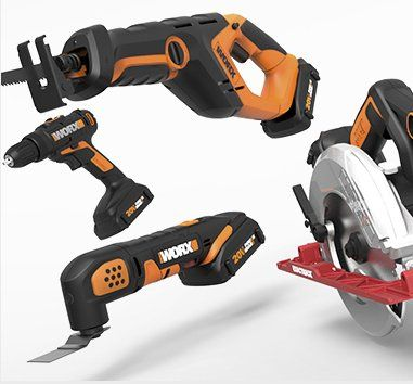 """One $500.00 grand prize winner will receive one of each of the following WORX brand tools: 20V Cordless Drill & Driver, 20V Reciprocating Saw, 20V Cordless Oscillating Multi-Tool, 20V 3-3/8"""" WORXSAW Compact Circular Saw, Exactrack 20V 6-1/2"""" Circular..."""