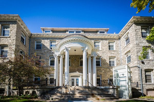 Brokaw Hall, Lawrence University 28 days but who's counting?