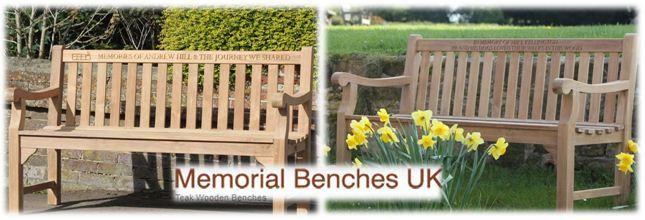 You can find the most exquisite collection of high quality engraved teak benches for sale in the UK at Memorial Benches, the largest suppliers of top grade wooden benches in the country.