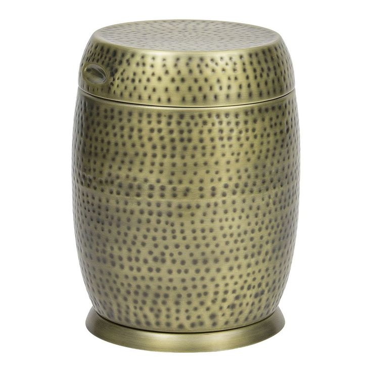 Bombay Outdoors Madras Drum Side Table, Gold