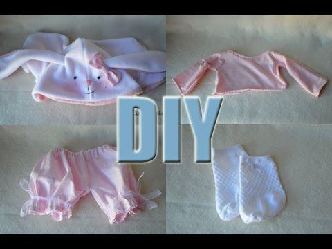 DIY - Como hacer ropas para vuestras muñecas